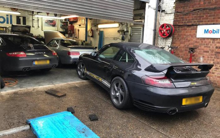 porsche 996 rear suspension arm fix