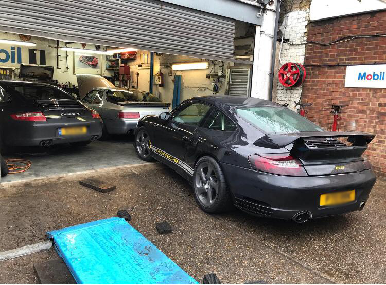porsche 996 rear suspension arm fix