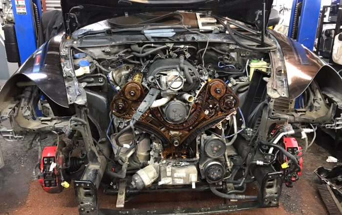 Porsche Cayenne timing chain replacement