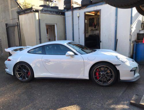 Porsche GT3 Tyre Repair