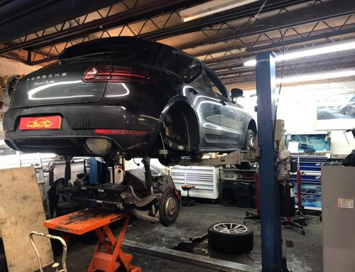 Porsche Macan Fuel Tank Replacement