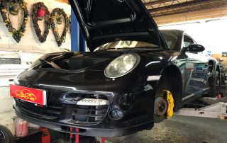 Porsche Bump Stops Repair
