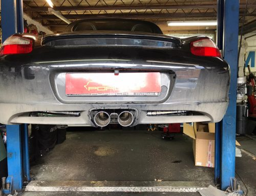 Porsche Boxster Sports Exhaust Fitted