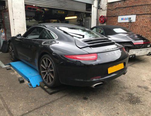 Porsche Servicing Centre London Kent Essex