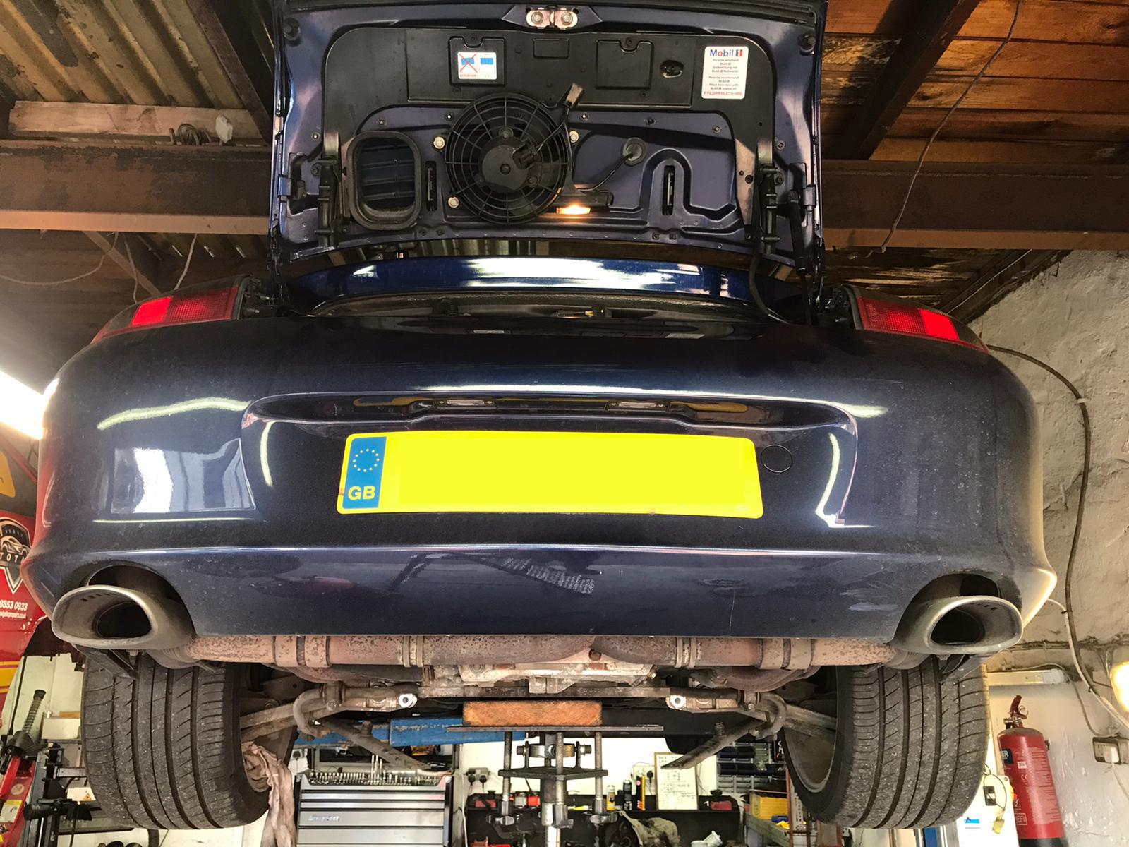 Porsche 996 upgraded double row ims bearing