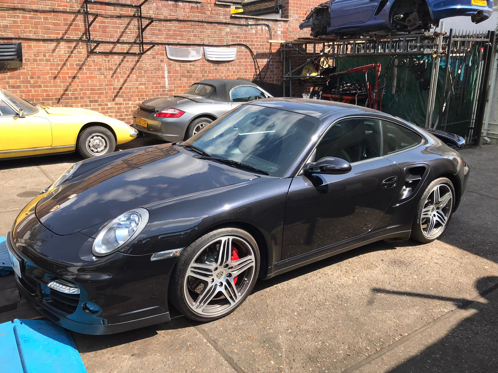 Porsche 997 Turbo S Spoiler Fault