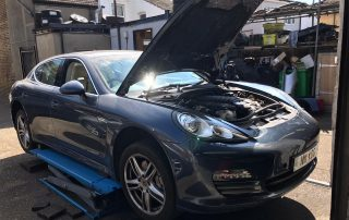 Porsche Panamera Misfiring
