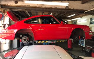 porsche 964 healthcheck and new shock absorbers