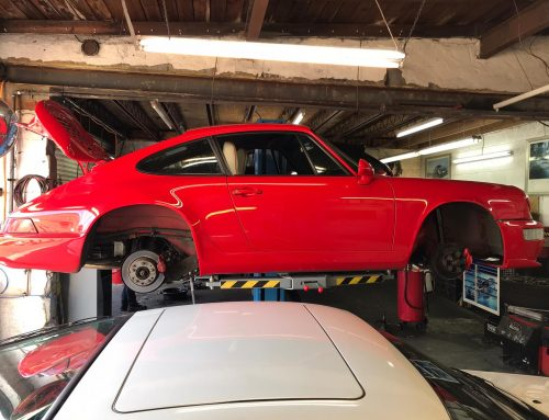 Porsche 964 New Shock Absorbers and Service