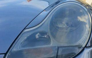 Porsche Headlamp Polishing Restoration Service