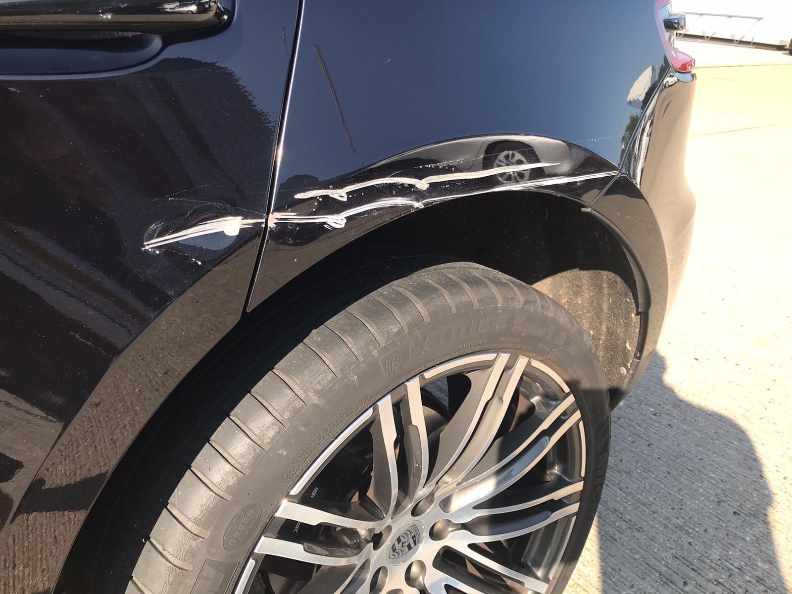 Porsche Macan Bodywork Repair London