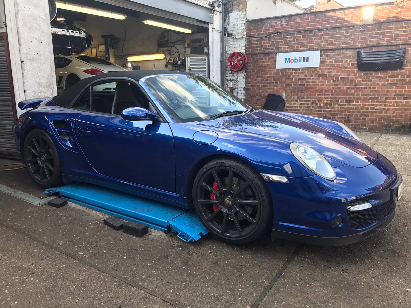 Porsche 997 Turbo Service London Kent Essex